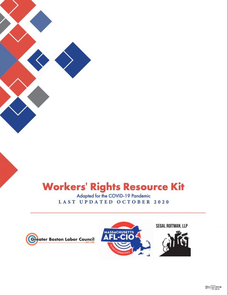 Workers Rights Resource Kit During COVID - October 2020